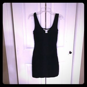 Black Diane Von Furstenberg sexy dress size 2